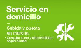 Servicio en domicilio