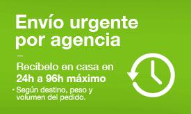 Envío urgente por agencia
