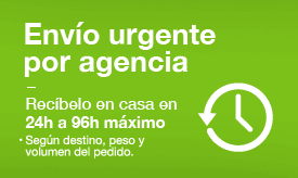Envíos en 24-96 horas por agencia